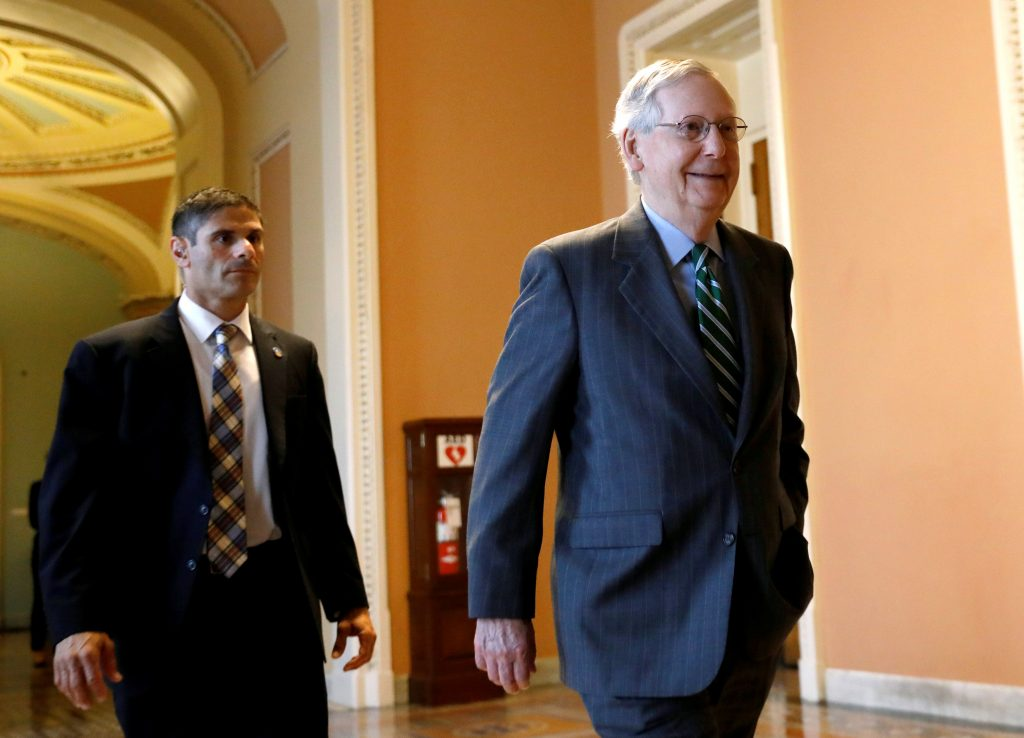 Senate Republicans, Unveil, Health-Care Bill, GOP, Struggles, Advance, Vision