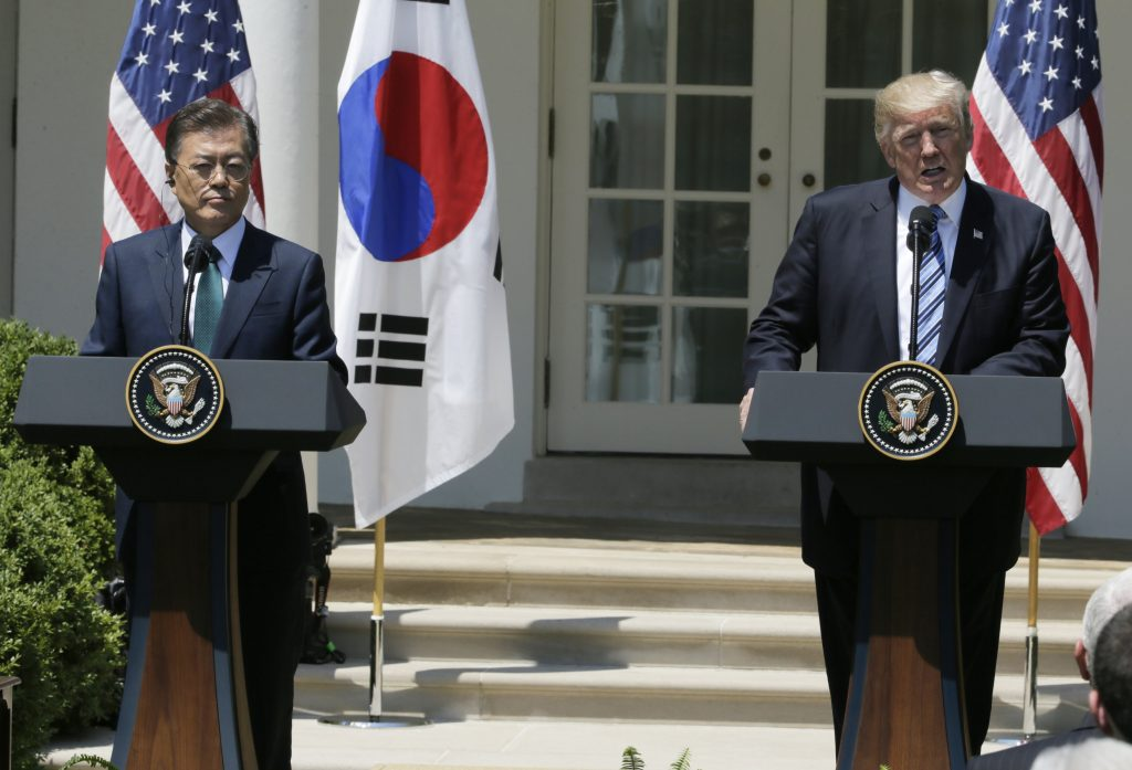 Trump South Korea