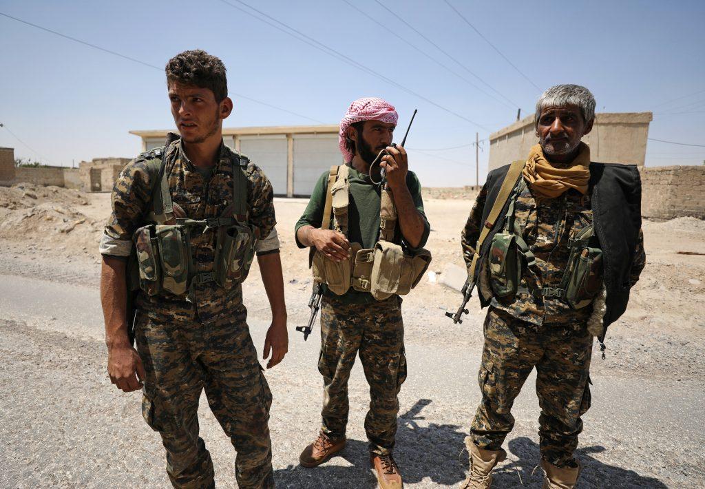 rebels Raqqa