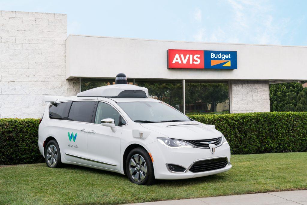 Avis, Teams Up, Waymo, Self-Driving, Car, Program