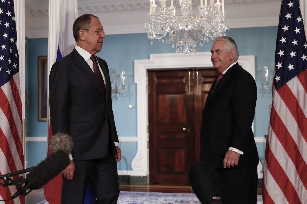 Russia, Lavrov, U.S., Tillerson, Discuss, Syria