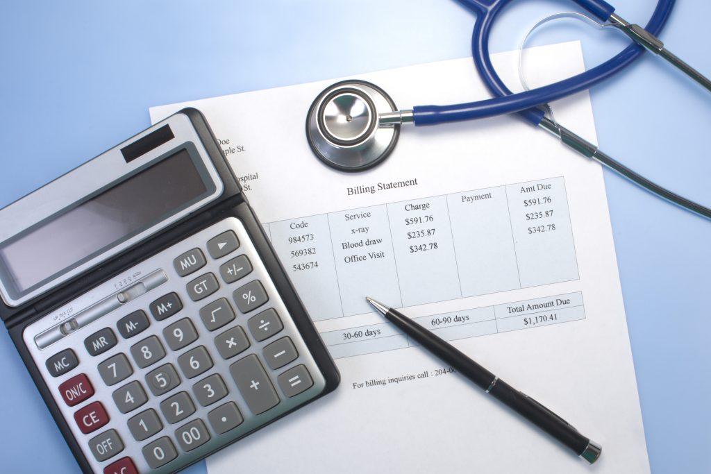 hospital money, medical bills