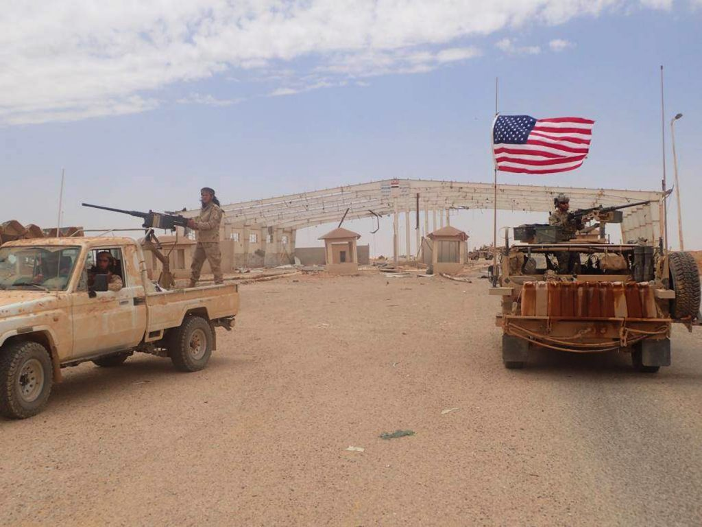 U.S., Drone, Fired, U.S.-Backed Forces, Syria