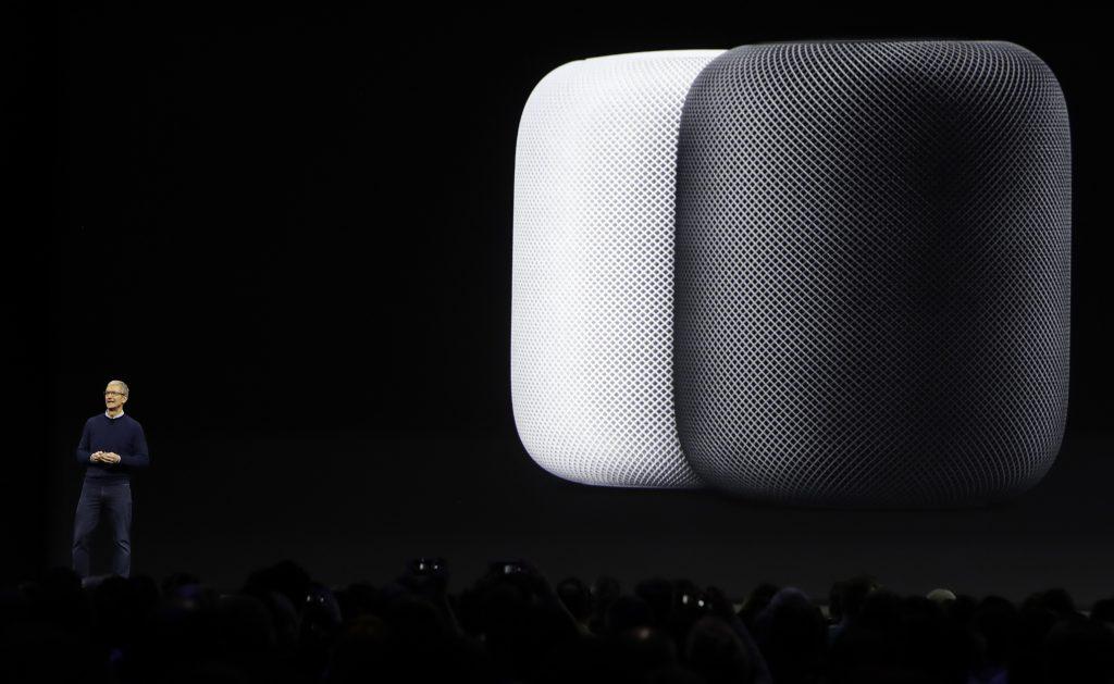 Apple, Unveils, HomePod, Speaker, New Product