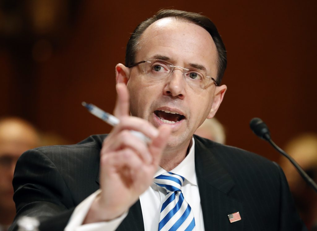Rosenstein, No Good Cause, Fire, Mueller