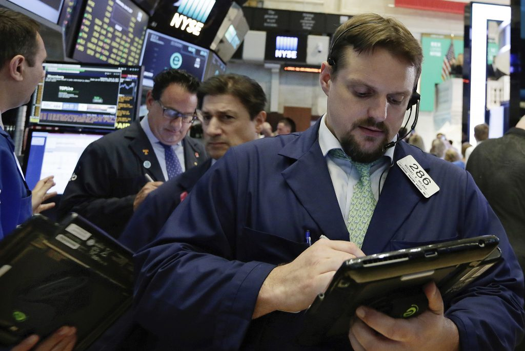 Stocks, Sink, Investors, Safety, Weak Sales, Data