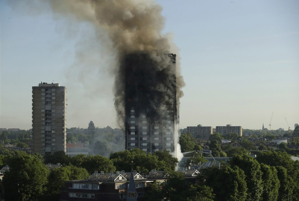 stay put, Grenfell, London fire