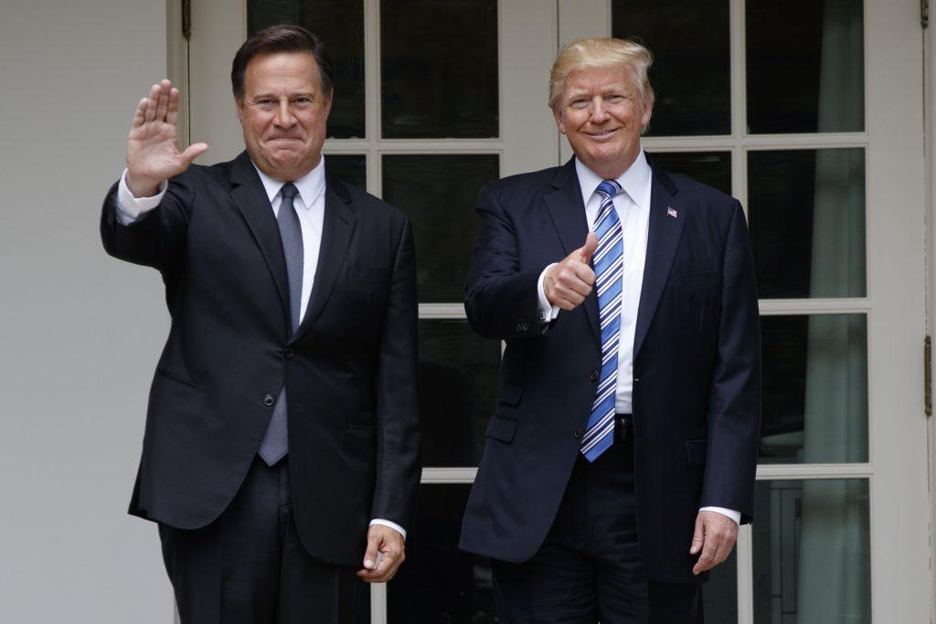 Trump, Welcomes, President, Panama, White House