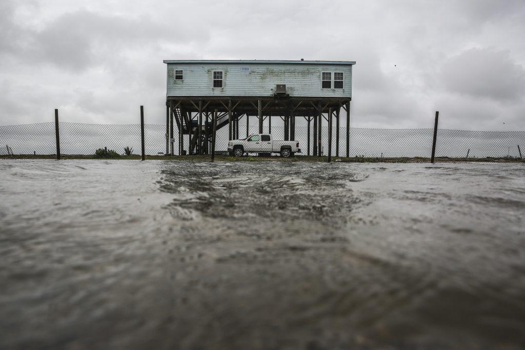 Tropical Storm, Cindy, Comes, Ashore, Southwest, Louisiana