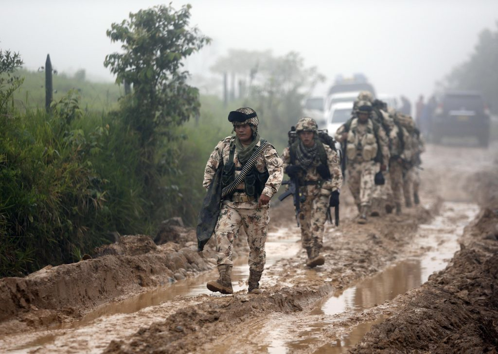 Colombia, Big Step, Peace, Rebels, Lay Down, Guns