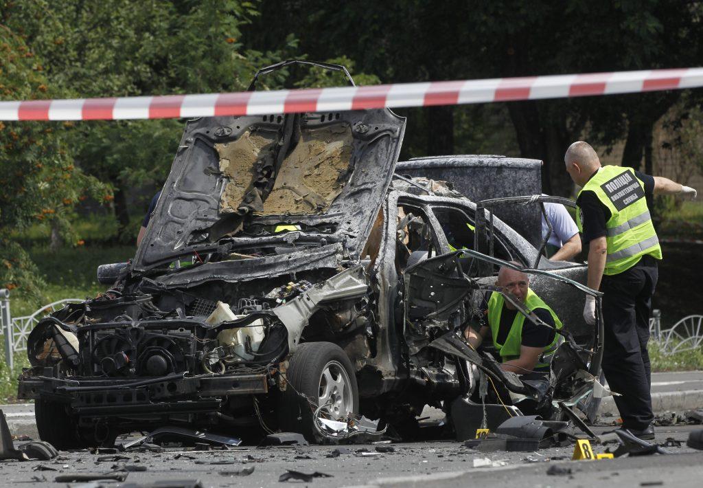 Car Bomb, Kills, Senior, Ukrainian, Intelligence, Officer, Kiev