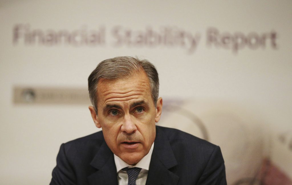 Pound, Jumps, Carney, Rate Hike