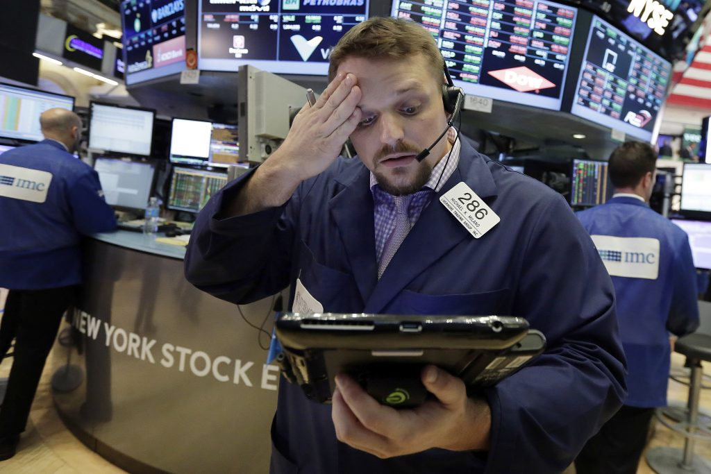 U.S., Stock Indexes, Veer Lower, Afternoon Trading, Oil Rises