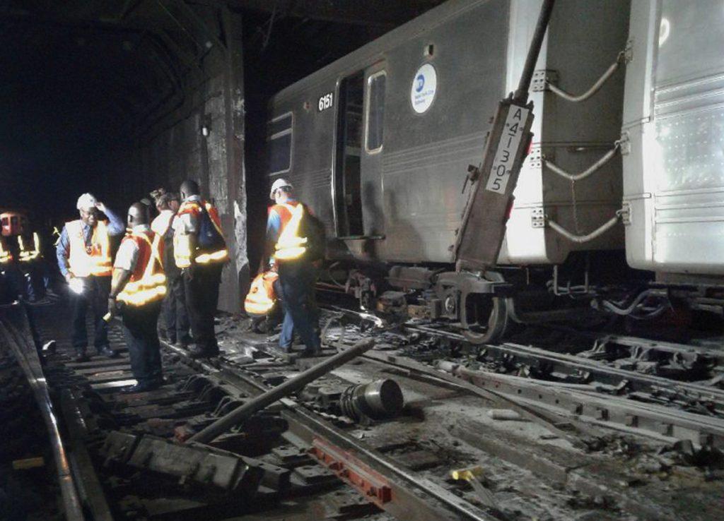 MTA, Human Error, Subway, Train, Derailment