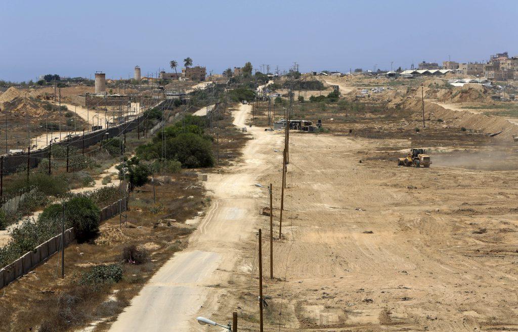 Hamas, Buffer Zone, Egypt