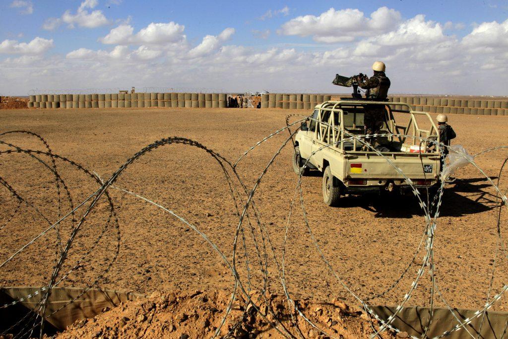 Gunmen, Syria, Killed, Jordan, Border Attack