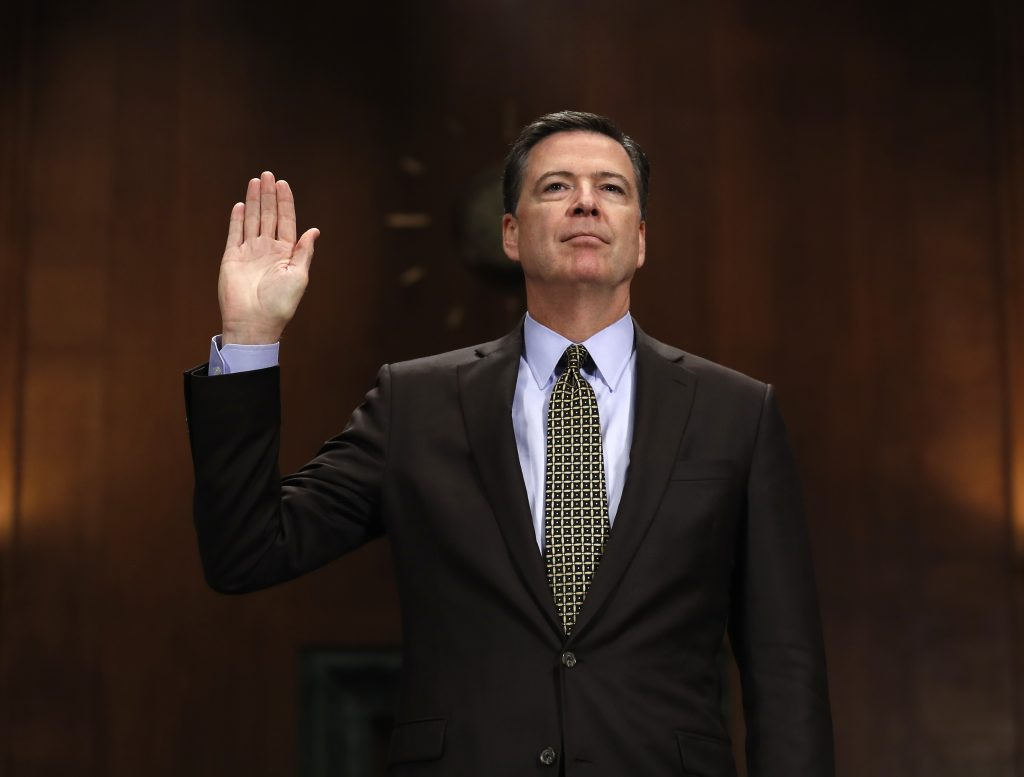 BREAKING, Text, James Comey, Prepared Testimony, Released