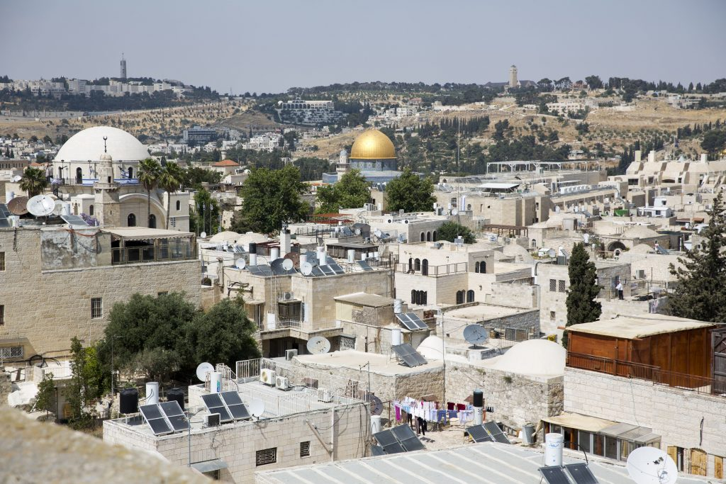 Poll, Two Thirds of Israelis, Oppose, Dividing Yerushalayim, Jerusalem