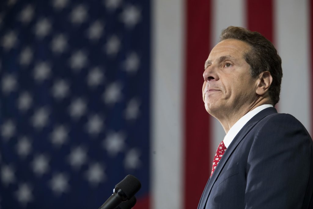 Governor, Cuomo, Declares, State of Emergency, NYC Transit System