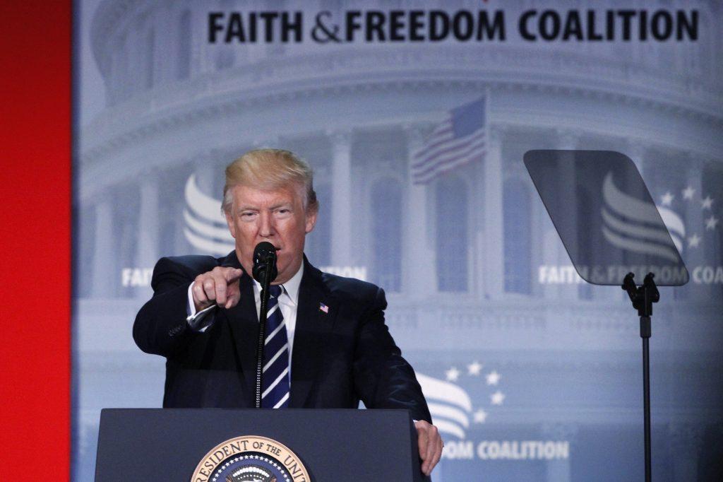 Trump, Faith and Freedom Coalition, Faith & Freedom Coalition