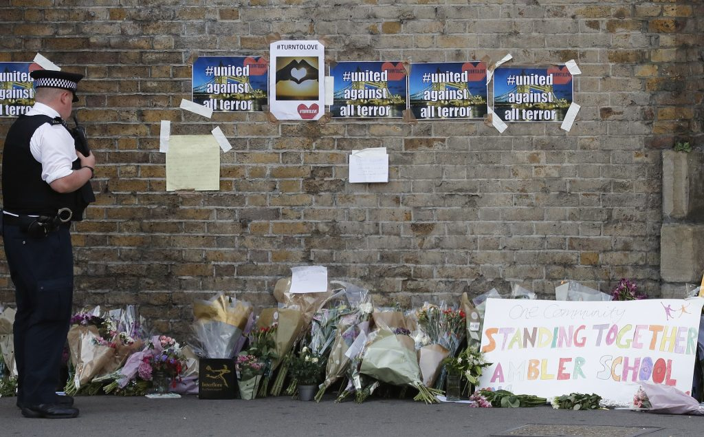 Finsbury Park, terrorism, terror, London