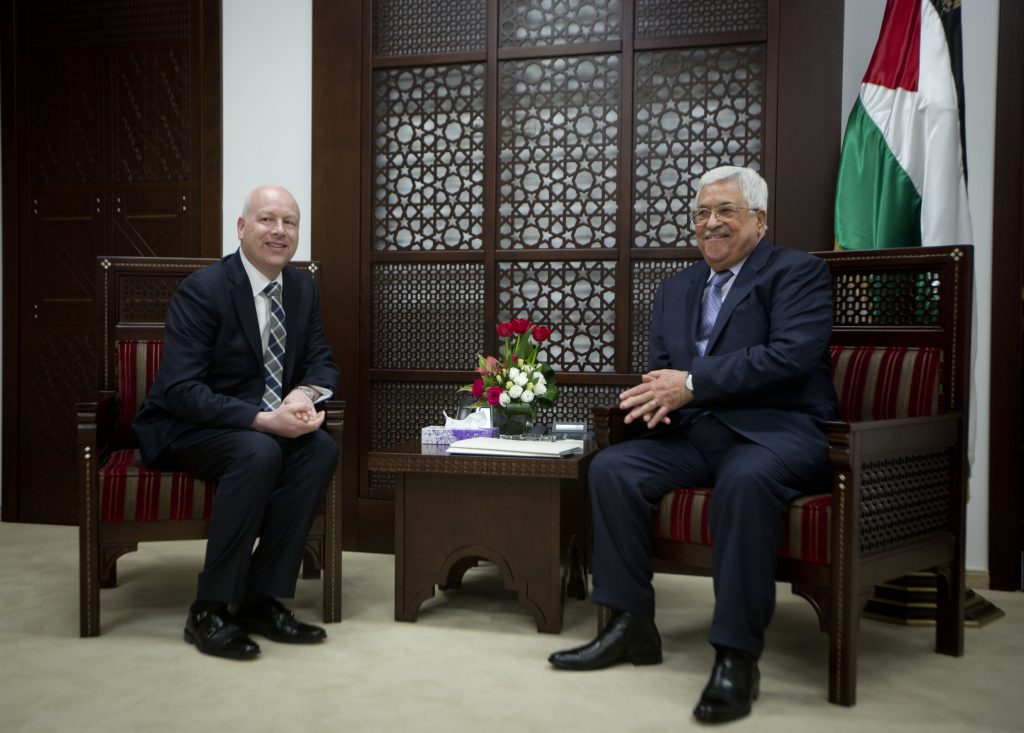 Greenblatt Kushner peace Palestinians, peace process