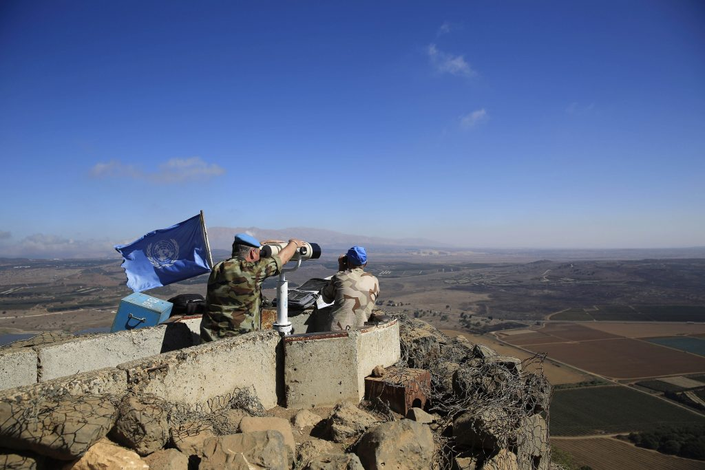 Israel Syria U.N.