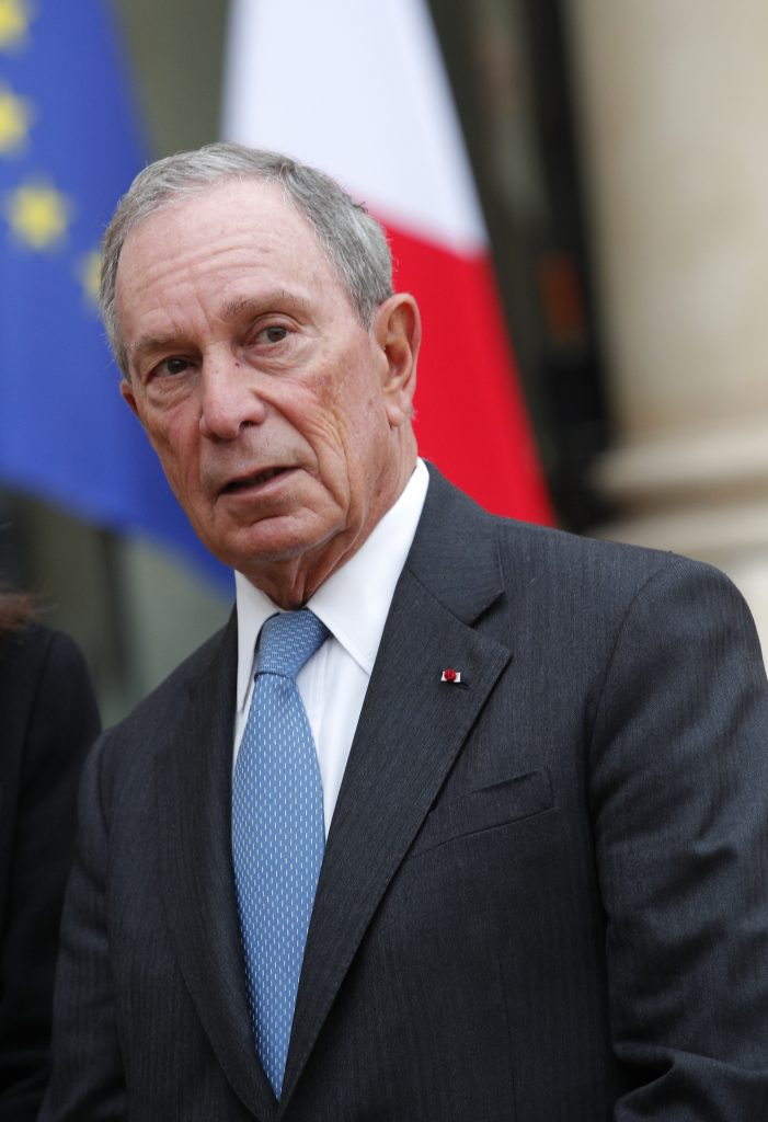 Former, NYC Mayor, Bloomberg, Pledges, $15M, Climate Change, Battle