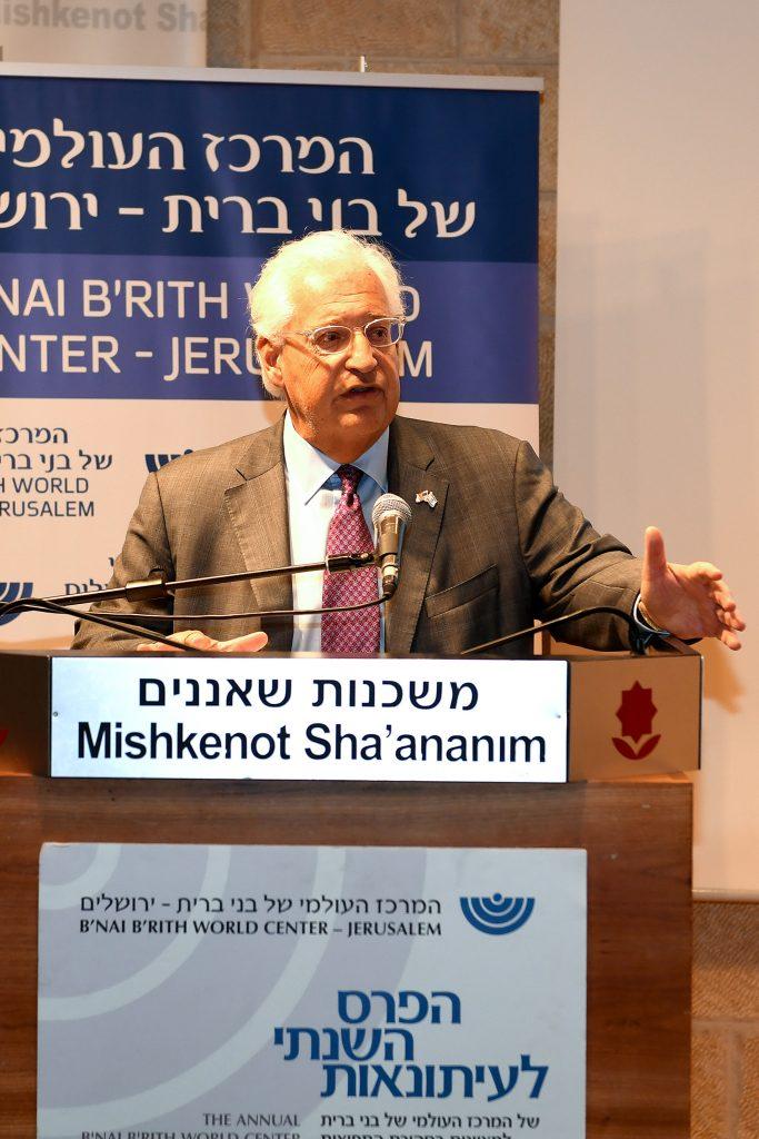 Ambassador, Friedman, Severing, Ties, Unthinkable, kosel