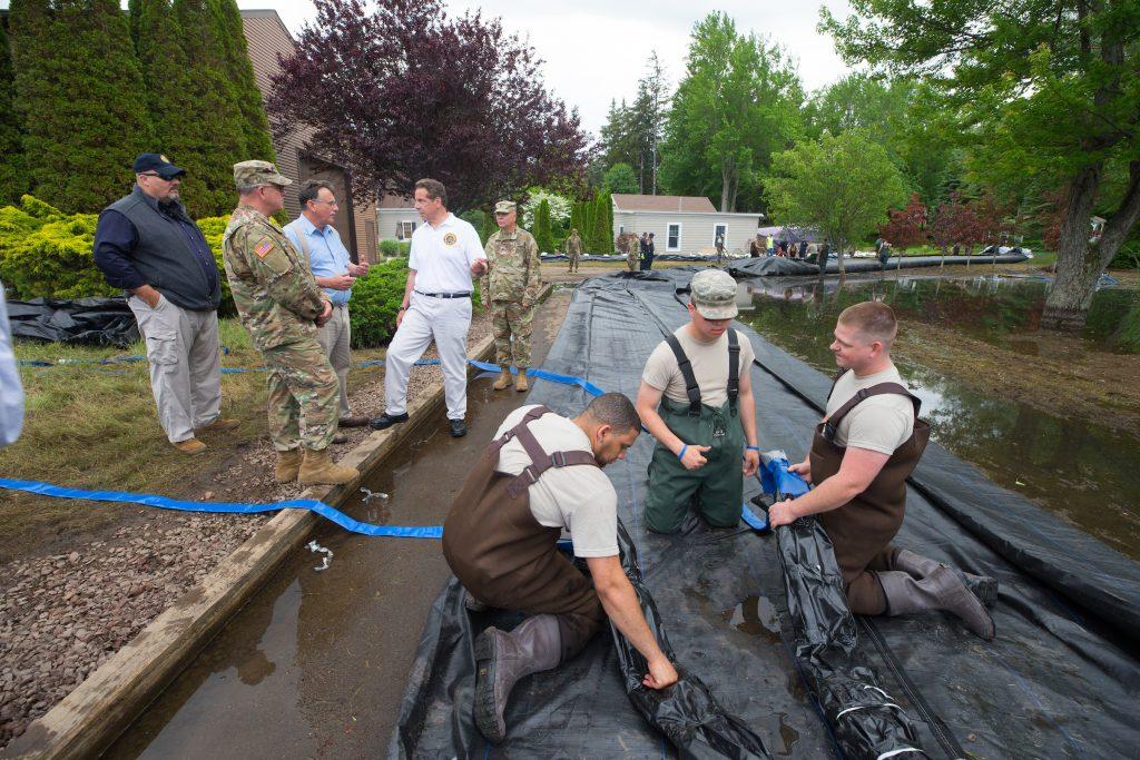 Flood Areas, Getting, Portable Dams, $1 Million, State Aid