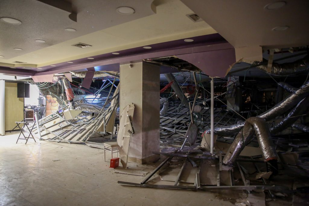 Near Disaster, Wedding Hall, Yerushalayim