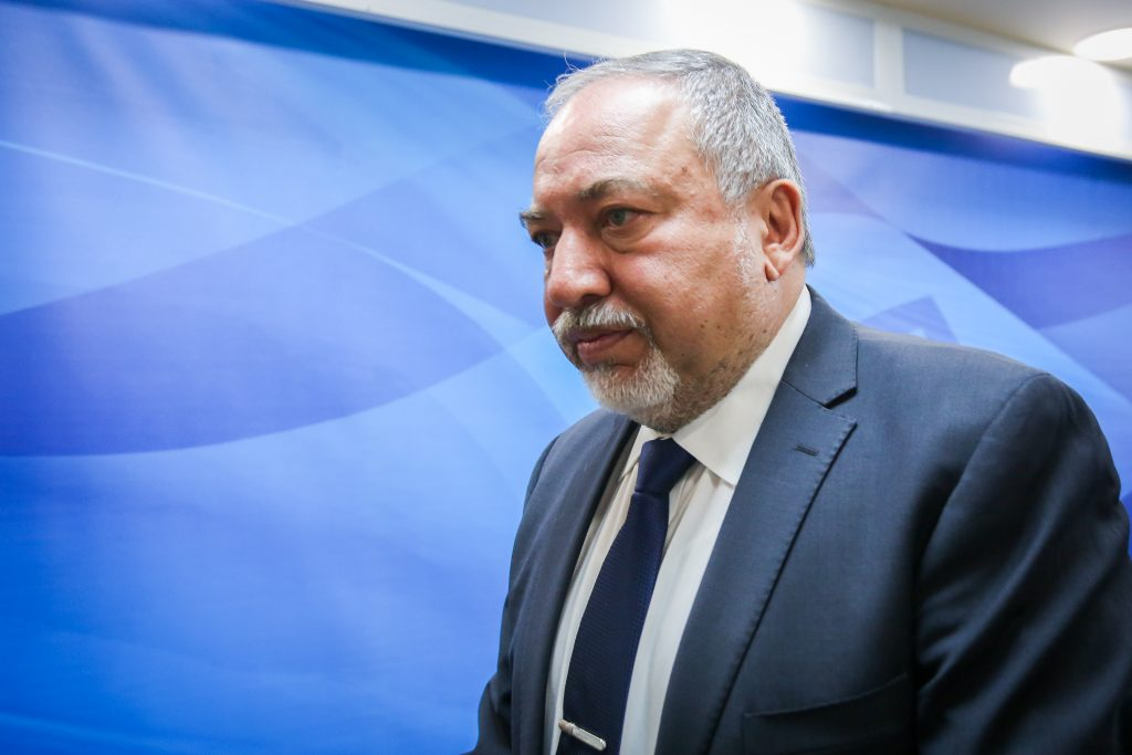 Liberman, Reveals, Proof, Palestinian Housing, Discussed, Cabinet