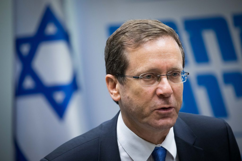 Opposition Leader, Blames, Likud, Right Wing, Missed Peace Opportunity