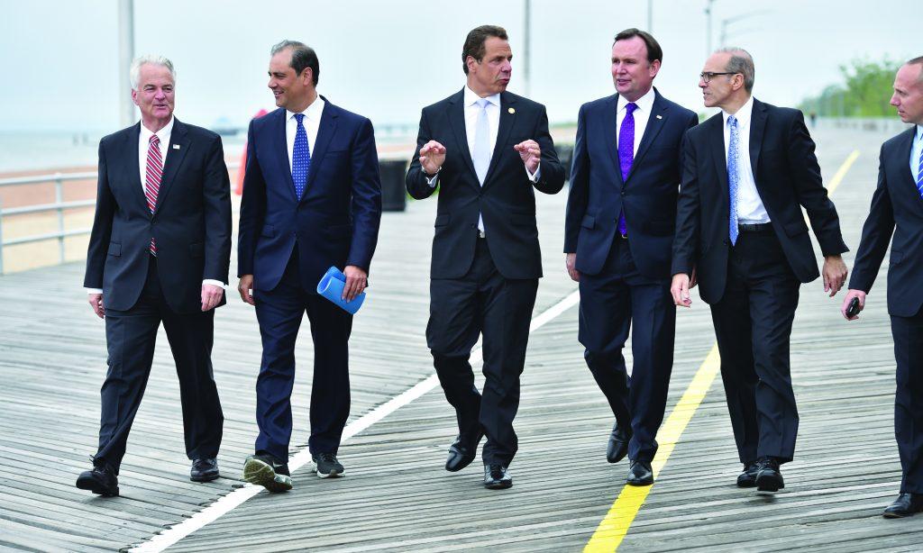 Cuomo, Announces, $151M, Seawall, Protect, Staten Island