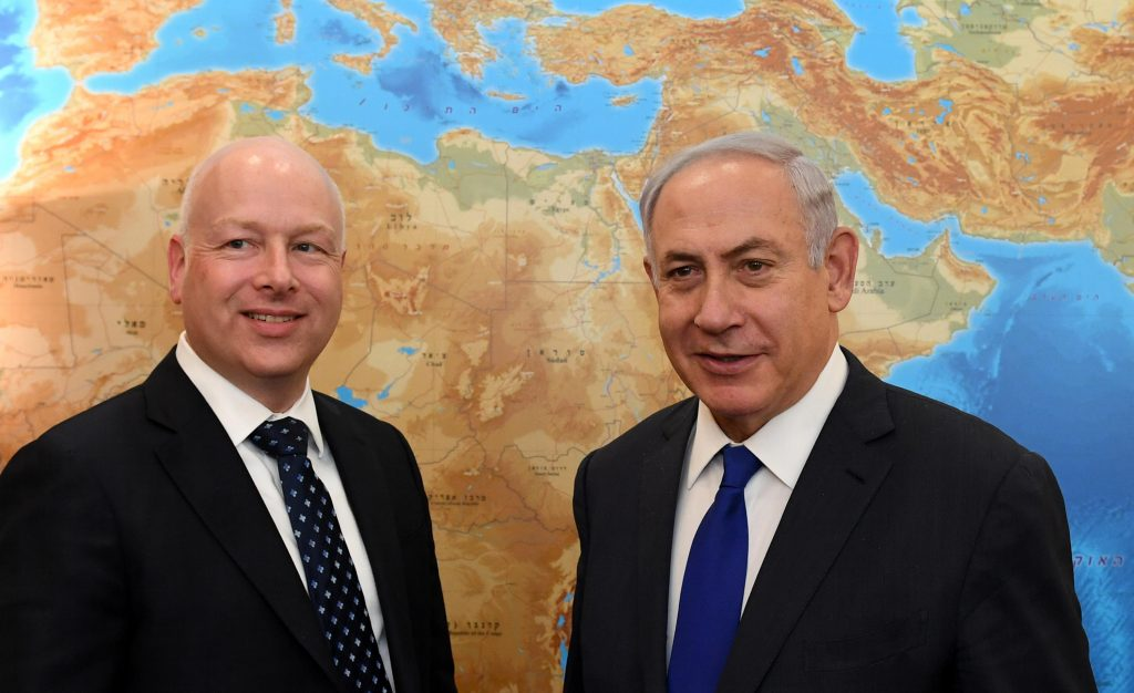 Greenblatt Netanyahu