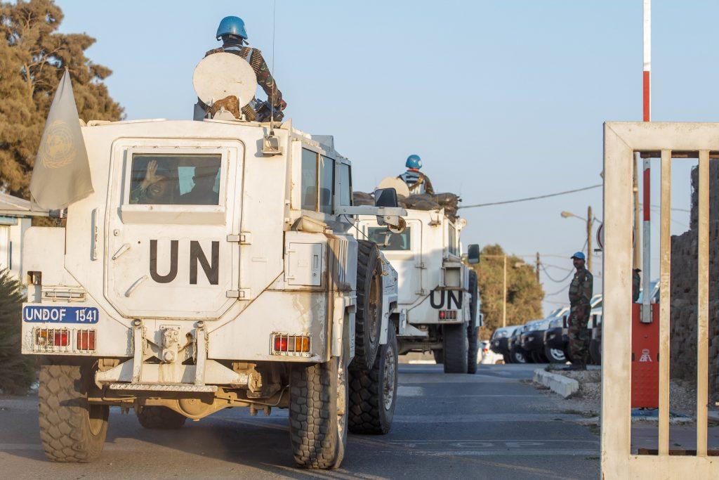UNDOF, Warns, Israeli Contacts, Syrian Rebels