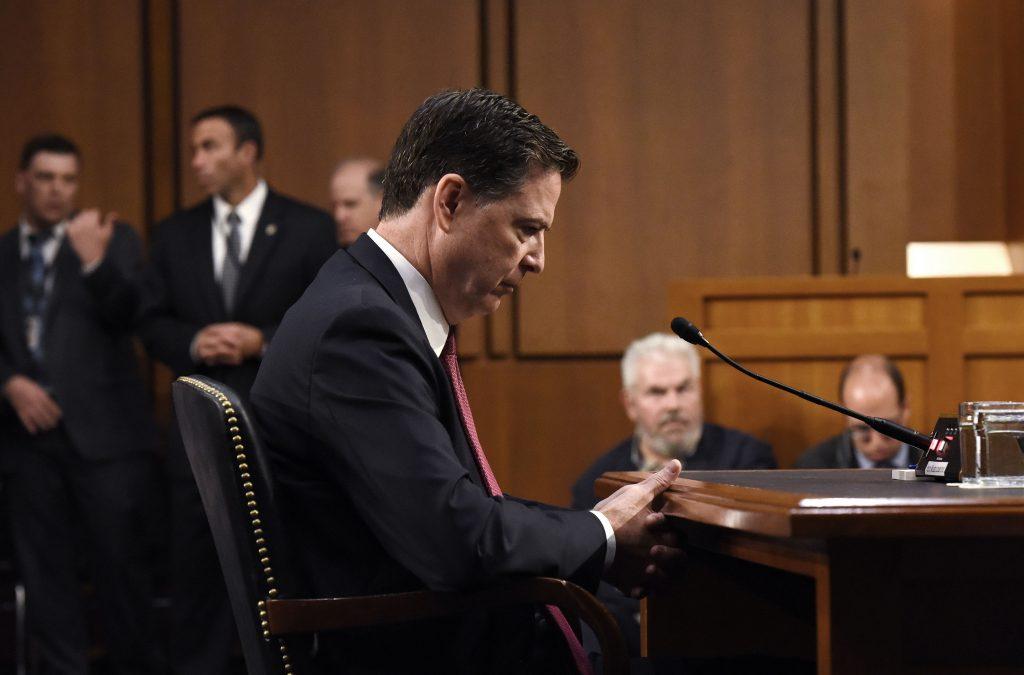 Comey, FBI, Trump, Senate, Russia, Comey testimony