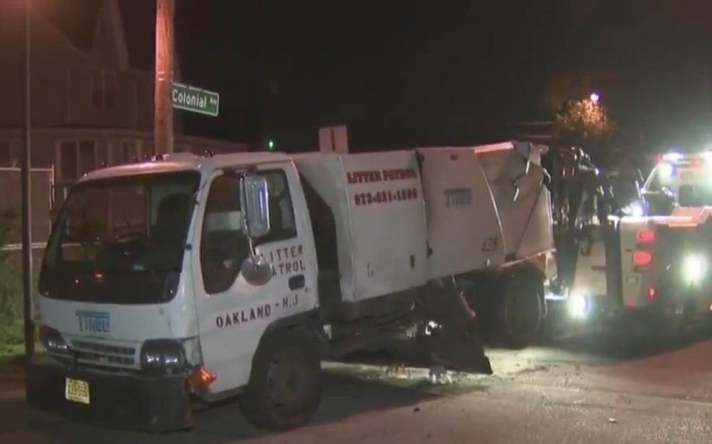 Suspect, Joyride, Street Sweeper, Crashed, Fled