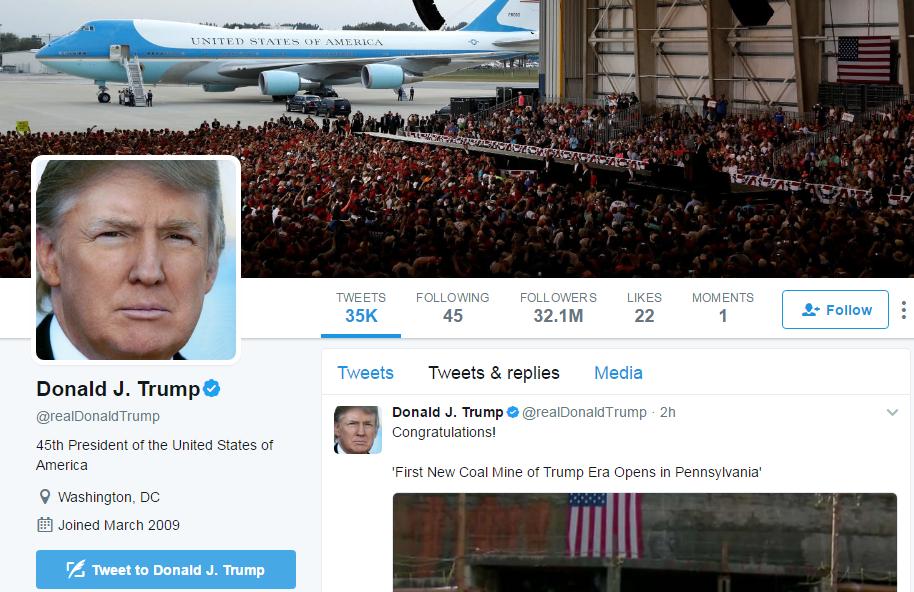 Strategic Reason, Trump's Tweets