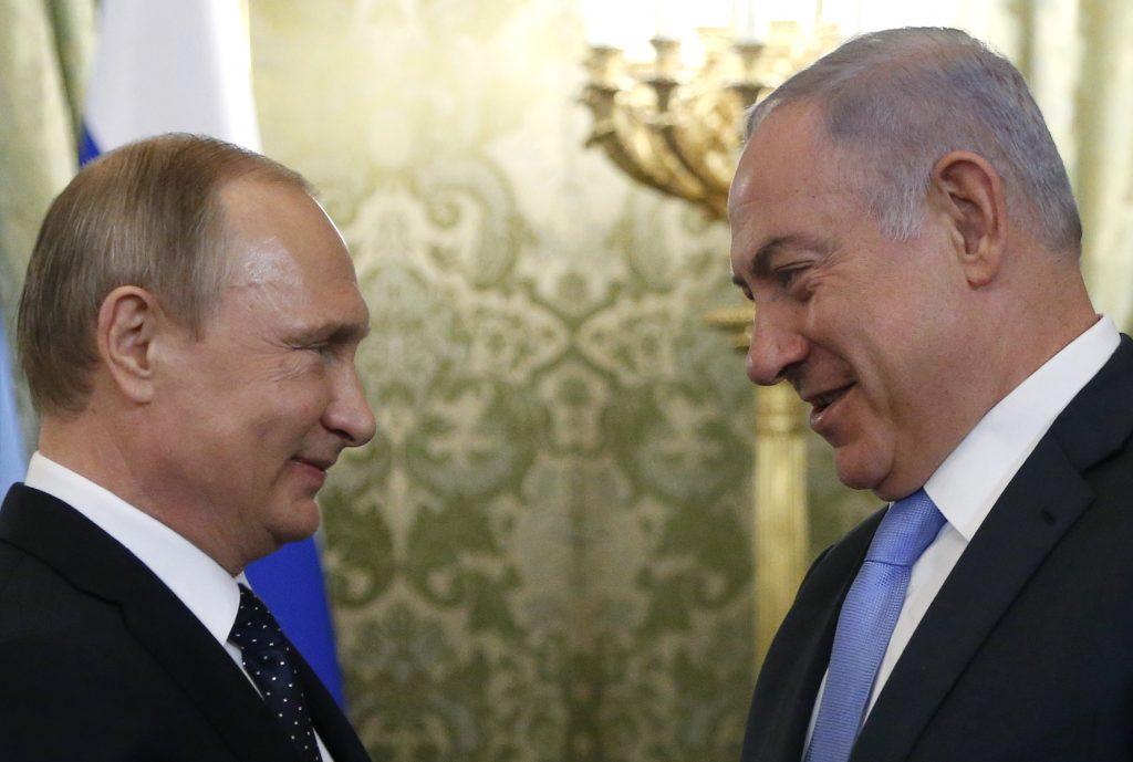 Netanyahu, Calls, Putin, Discuss, Syrian Buffer Zone