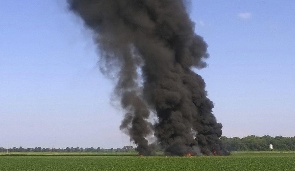 Military, Plane, Crash, Rural, Mississippi