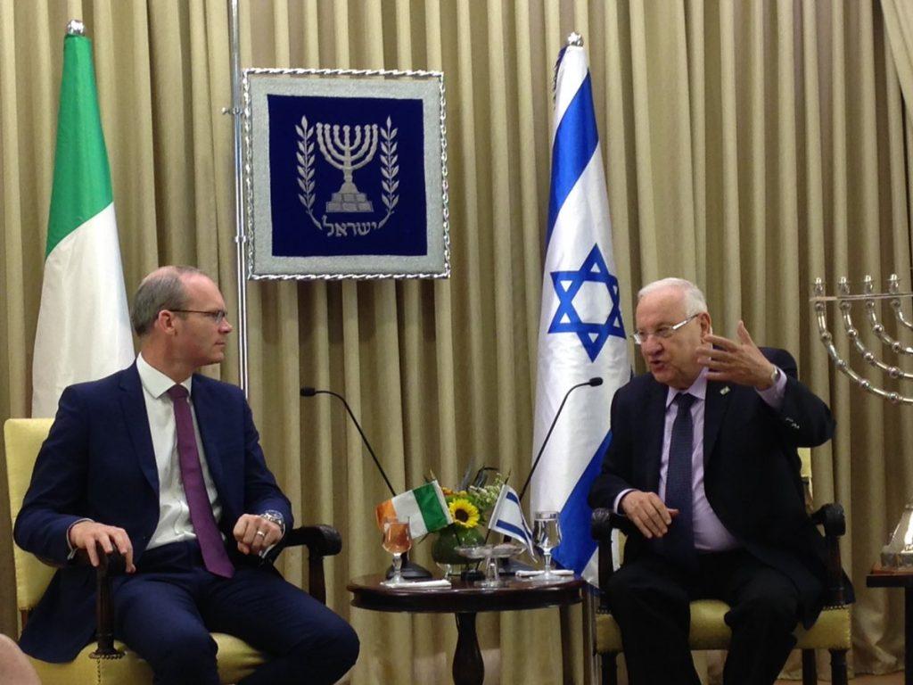 Rivlin, Irish, Answer, Netanyahu, Rebuke