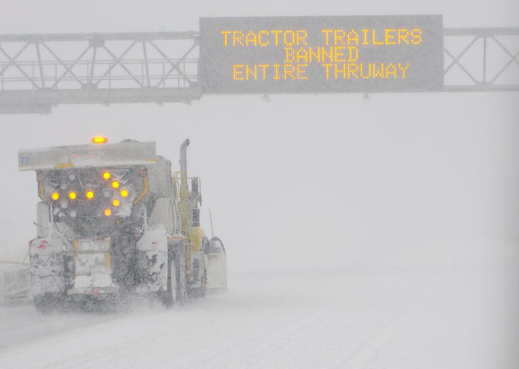 New York disaster snow