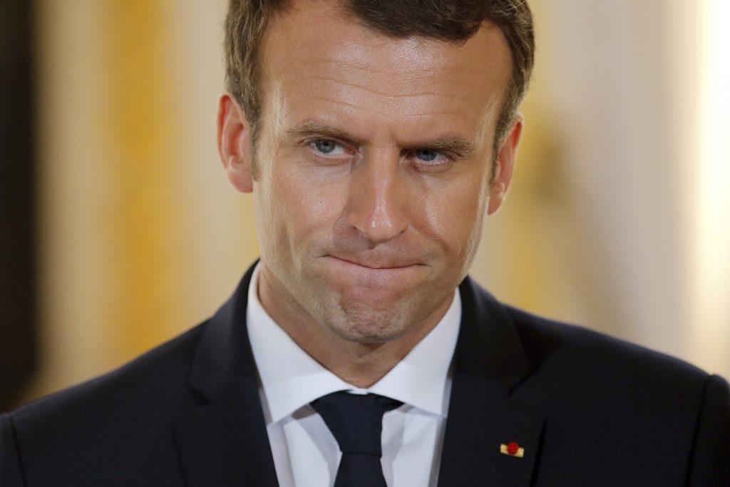 Macron, Trump, Climate