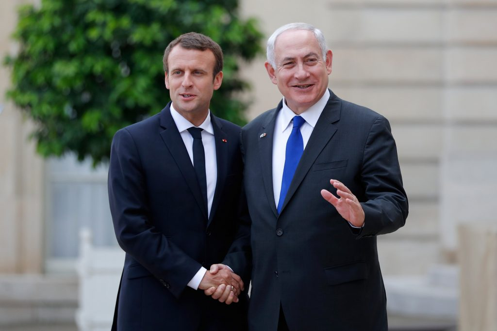 Macron Netanyahu