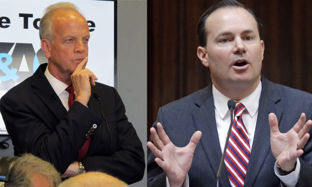 Republicans health care, jerry moran, mike lee