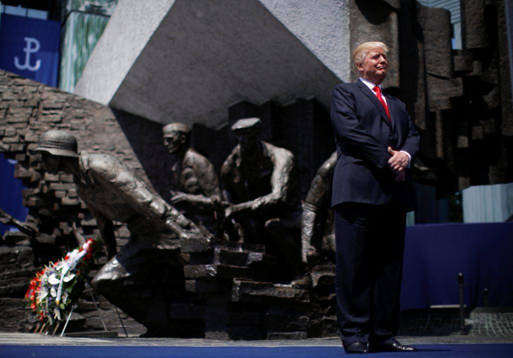 Trump, President, Visit, Warsaw, Warsaw Ghetto