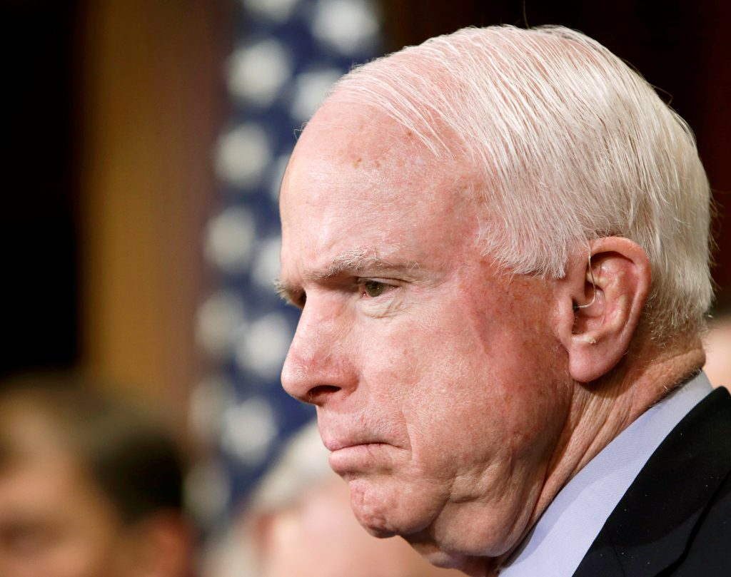 McCain, Cancer, Diagnosis, Senate