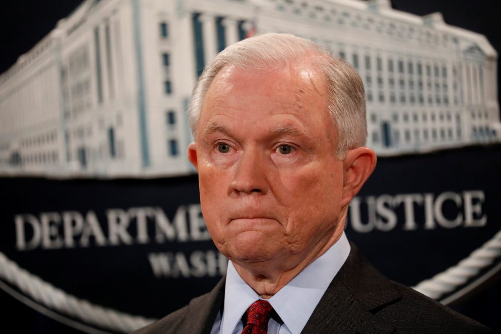 Sessions, Staying, Attorney General, Trump