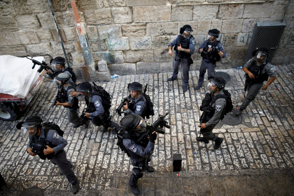 Temple Mount security, har habayis security
